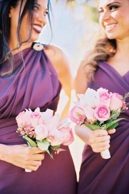 bridesmaids_fushia, pink, cream colors