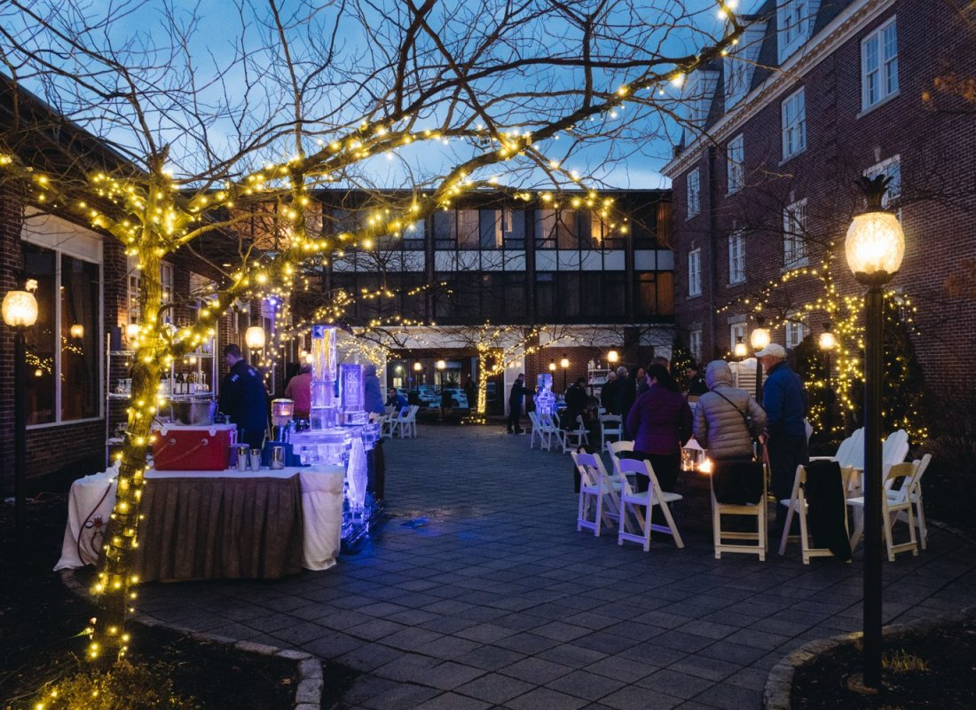 Winterfest, Hotel Viking, Newport, RI | The Stopover by Meaghan Murray | meaghanmurray.com