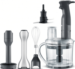 kitchen spoons rustic countertops essentials list 71 of the best cookware and this all in one immersion blender with attachments from breville is our premium