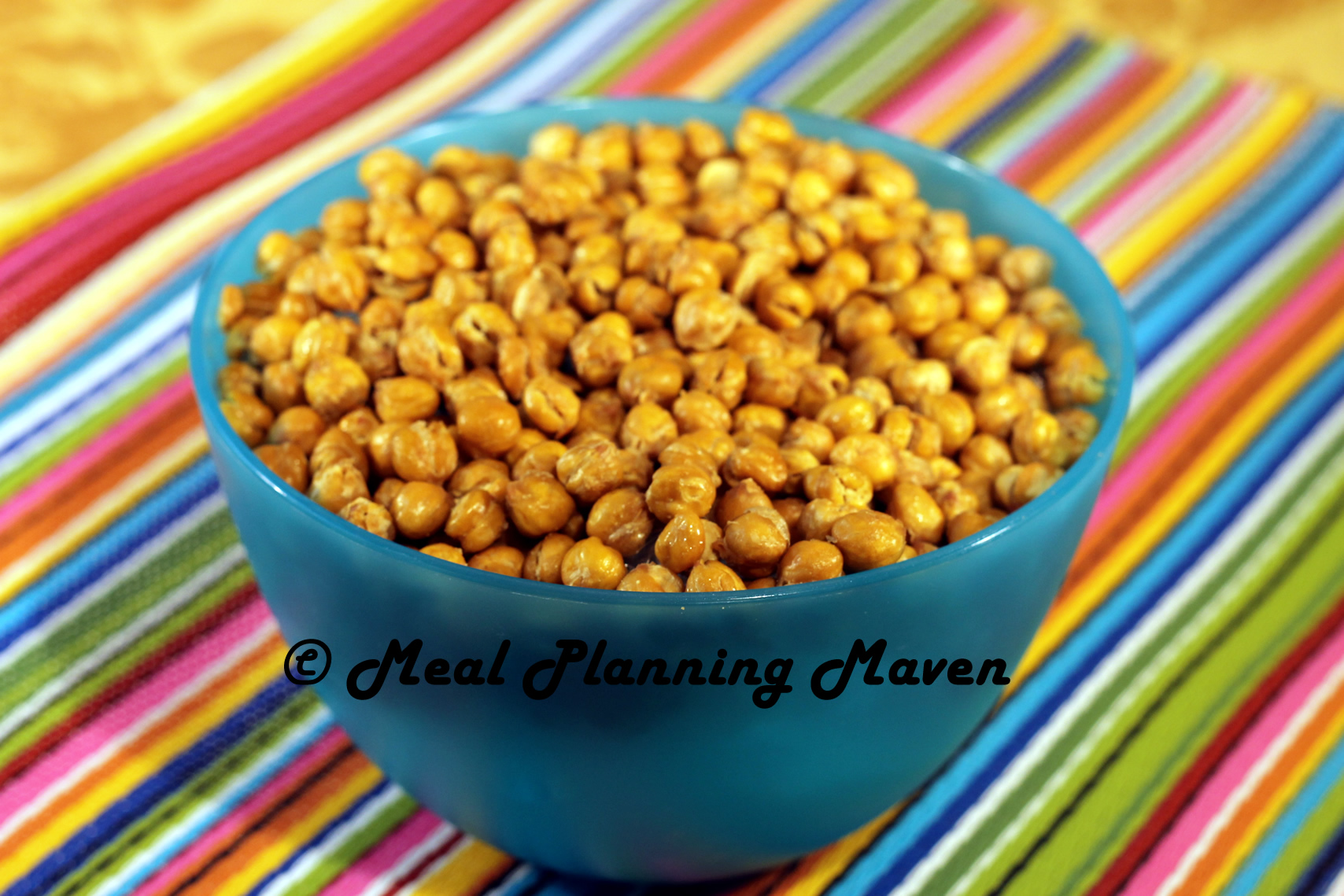 Crunchy Spiced Chickpeas