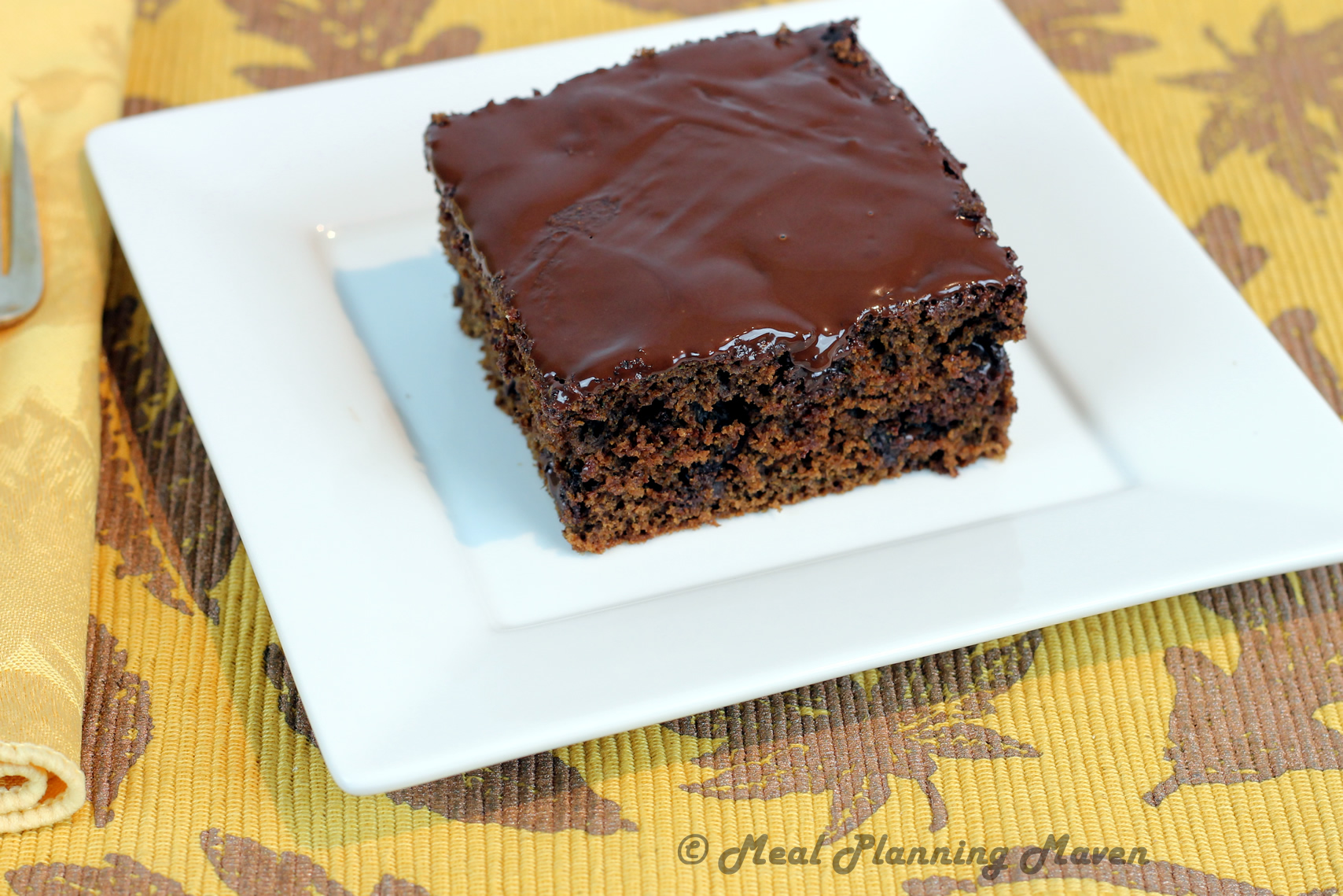 Double Chocolate Fudge Squares