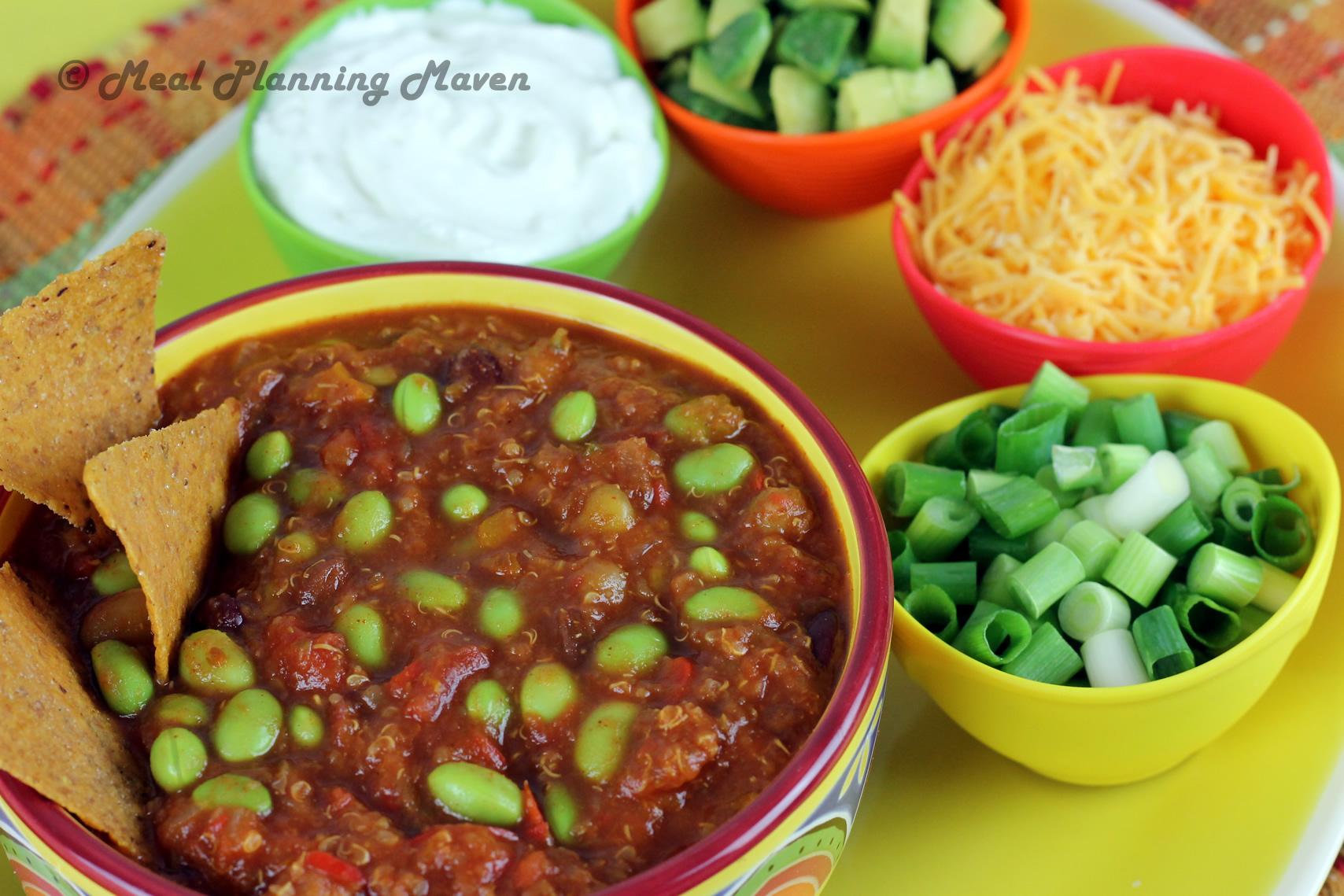 Crockpot Mexican Jumping Bean Chili