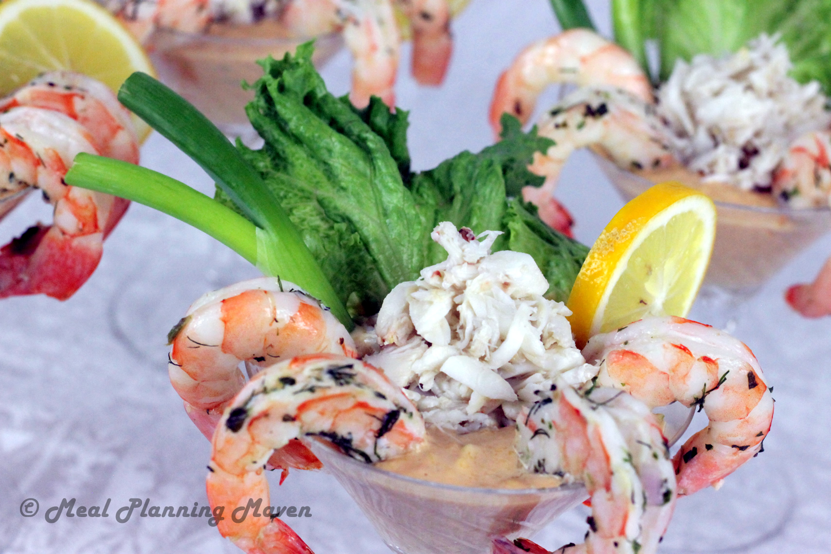 Seafood Cocktail with Spicy Mango Mayo