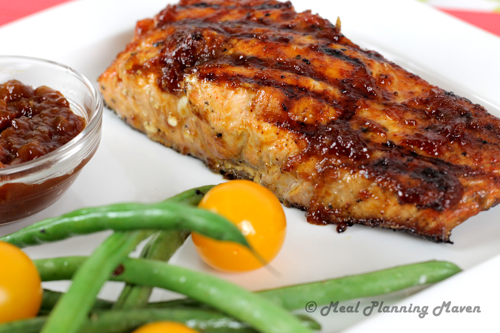 Sweet 'n Tangy BBQ Salmon