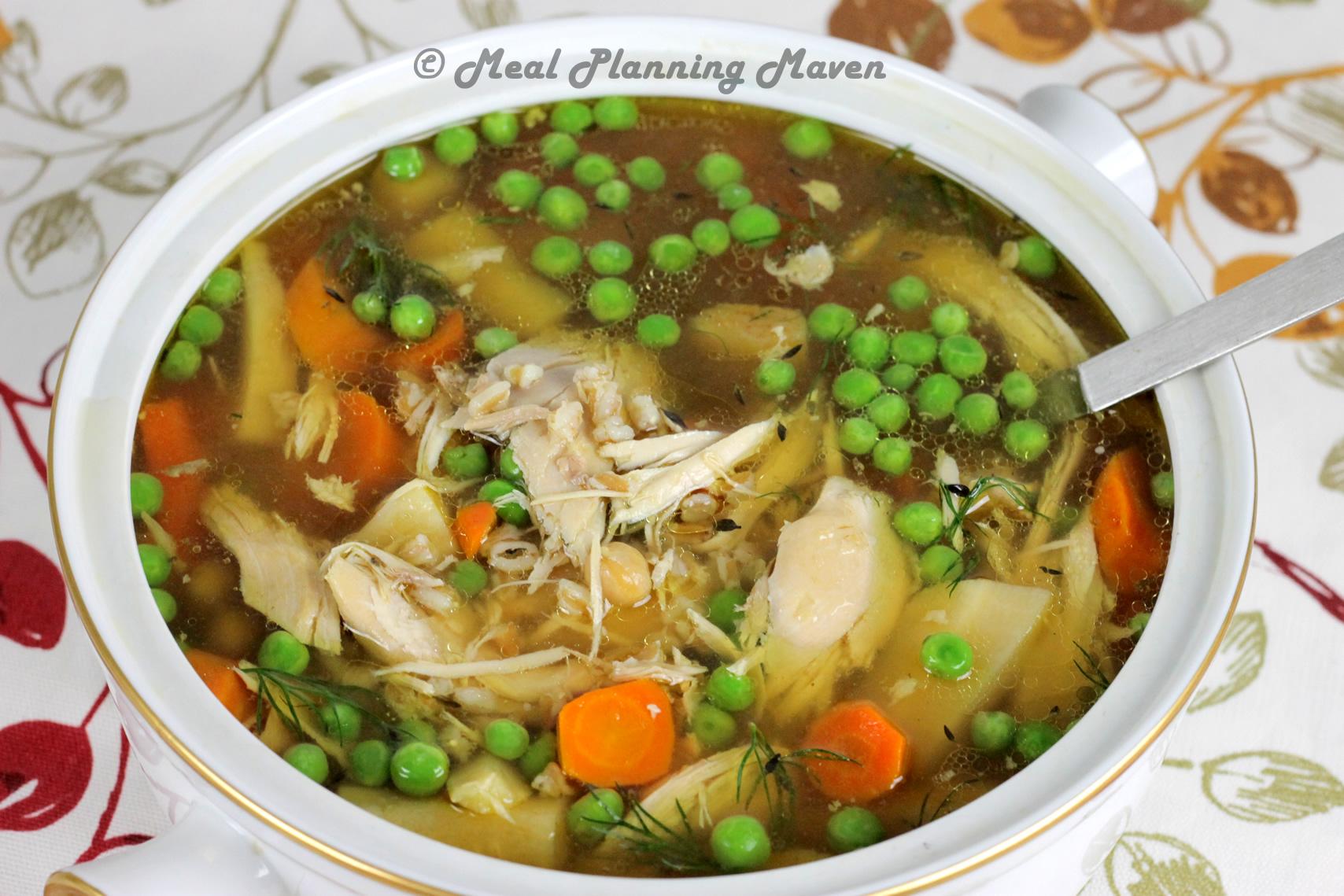 Crockpot Rustic Chicken Soup