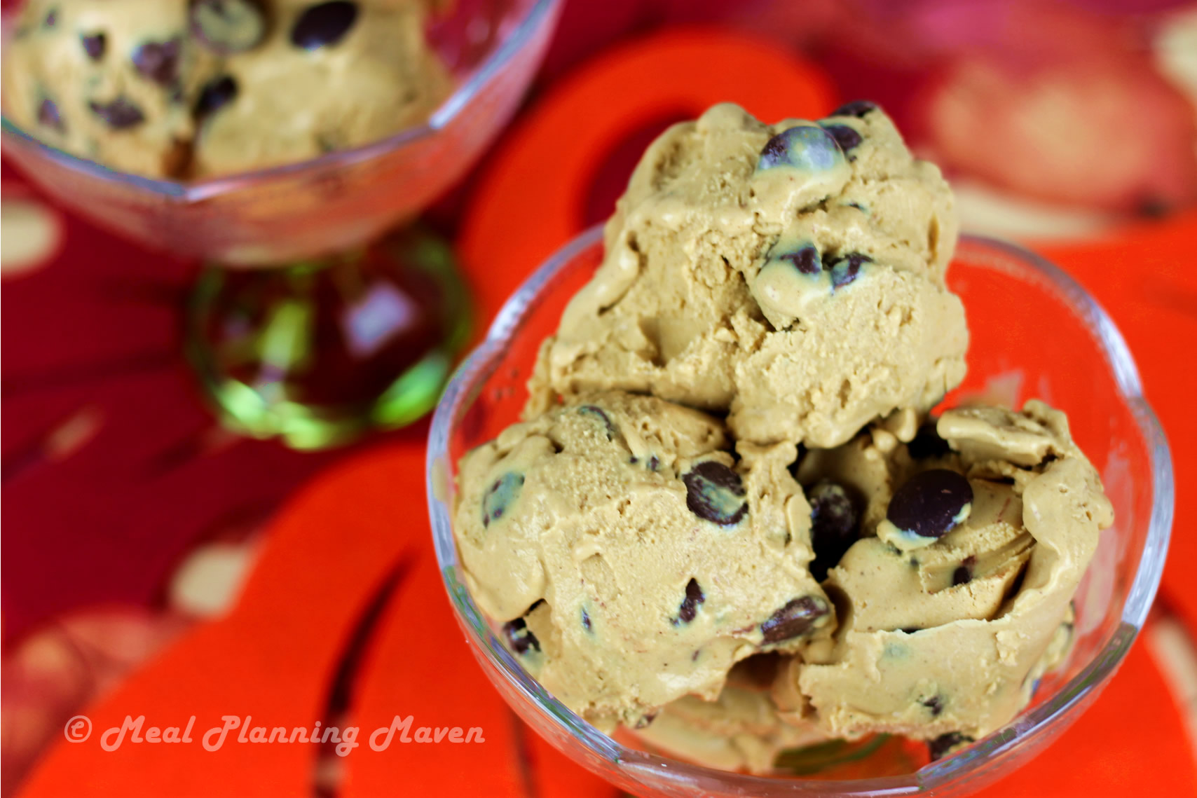 Choco-Chip Pumpkin Cheesecake Ice Cream