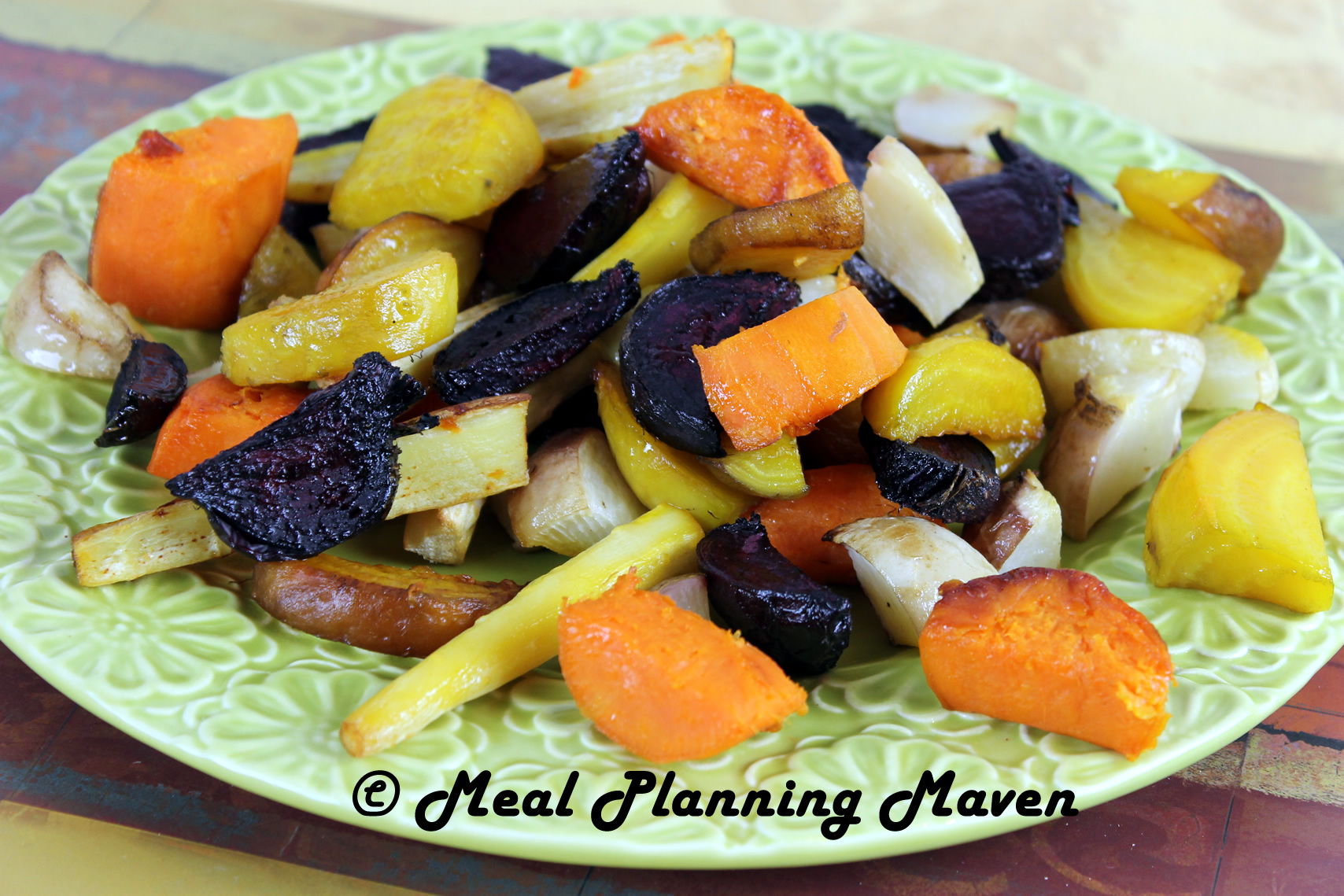 Roasted Root Veggies