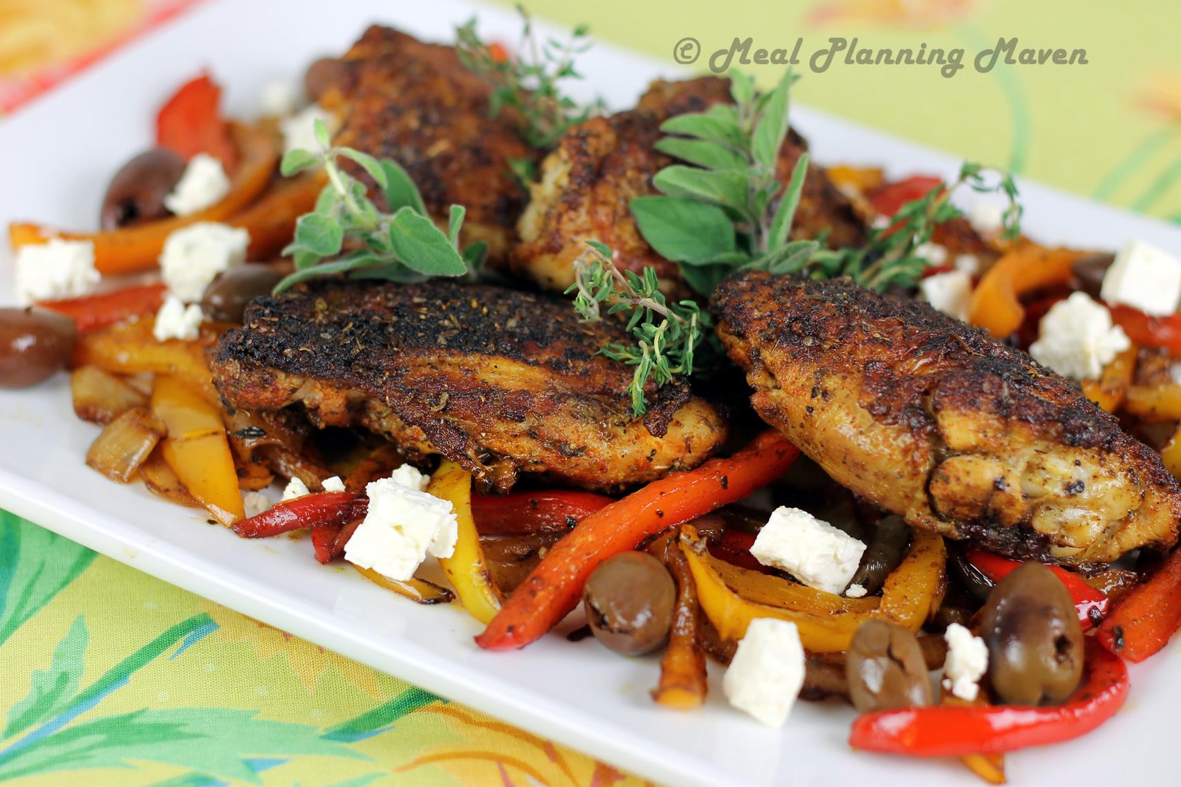 Mediterranean-Spiced Chicken Thighs