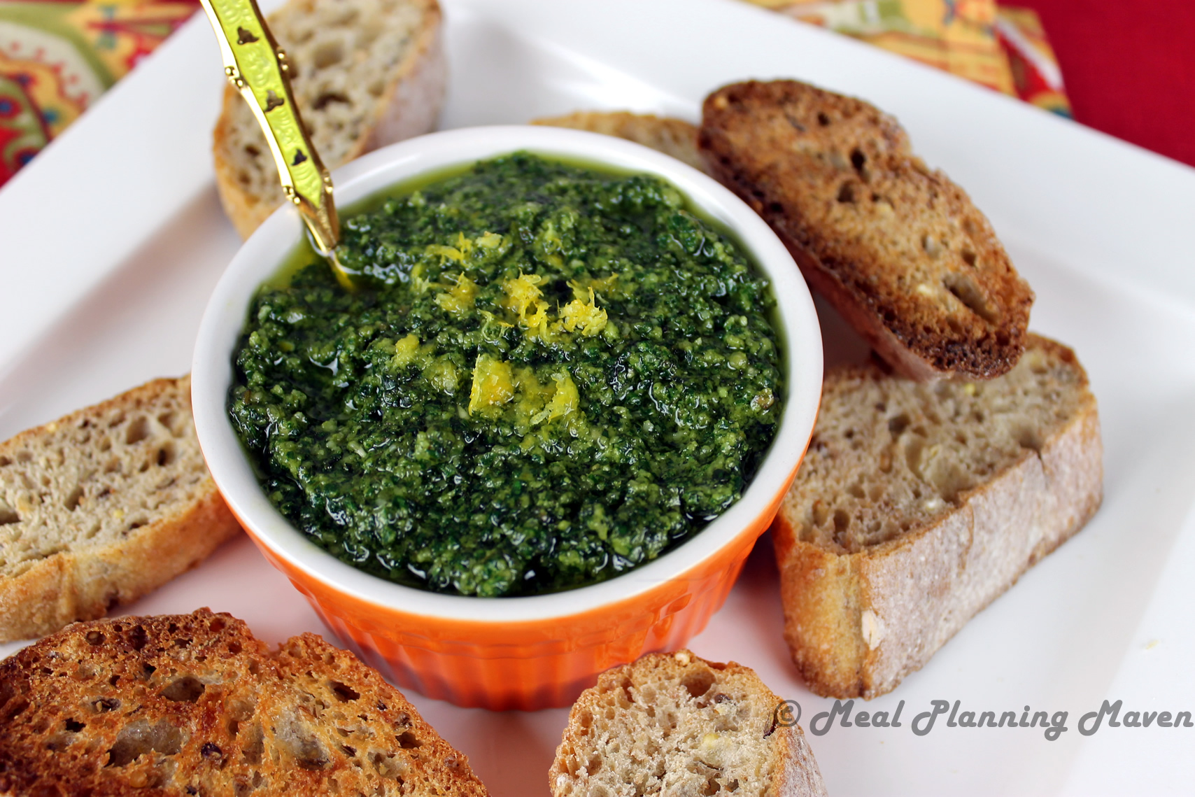 Basil-Mint Pesto
