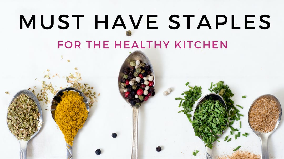 10 Healthy Pantry Staples You Should Always Have on Hand