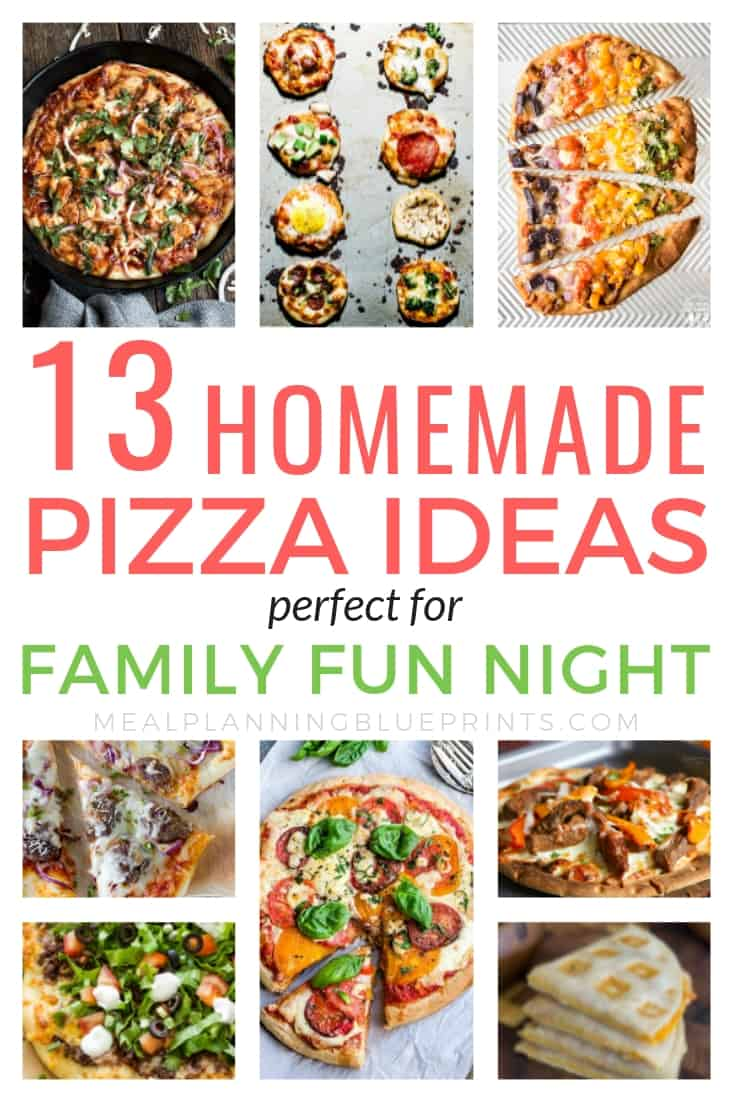 Tired of spending so much money on takeout? These easy homemade pizza recipes are delicious! Making your own homemade pizza dough, sauce, and toppings is a great way to save money on food. Avoid delivery and make the best pizza recipes at home, you'll never go back!