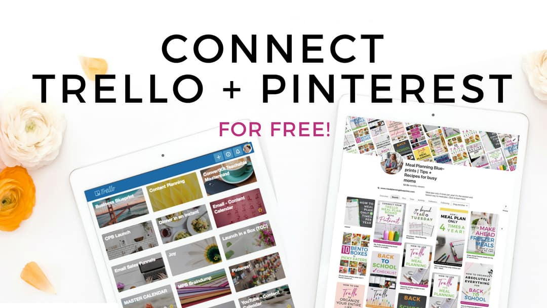 Connect your Trello Meal Planning Board with Pinterest