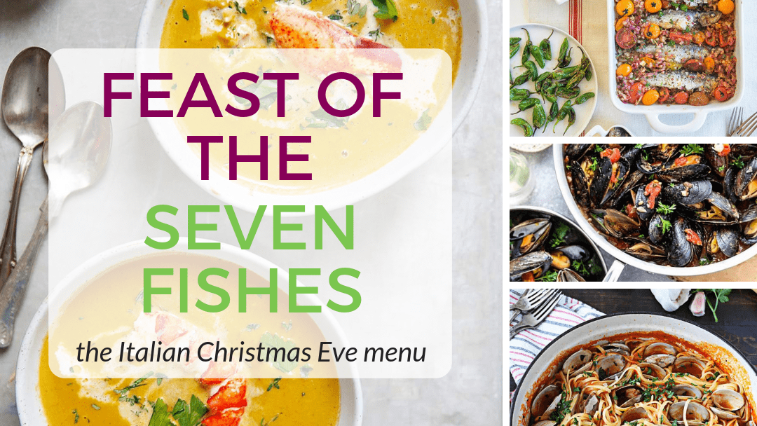 Seven Fishes Christmas.Feast Of The Seven Fishes Menu The Italian Christmas Eve