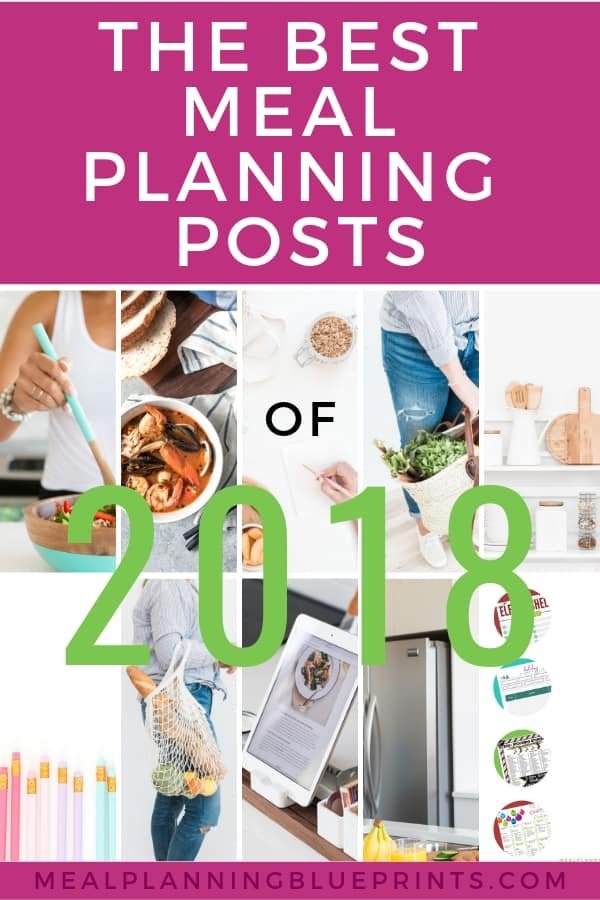 Top meal planning posts of 2018! Here are your favorite posts about meal planning, freezer meals, and grocery shopping. See which meal plans made the Top 10 - I bet you'll be surprised at which one stole the #2 spot at the last minute! #mealplanning #freezermeals #themenights