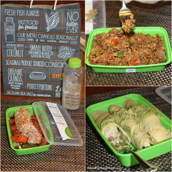 SnapKitchen  Fresh healthy takeaway Review  Giveaway