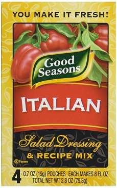 Good seasons Italian seasoning packet