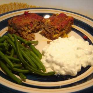 Southwestern Meat Loaf, 9 WW SmartPoints