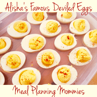 Alisha's famous Deviled Egg recipe