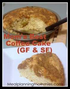GF Coffee Cake
