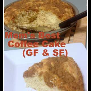 Mom's Gluten Free Coffee Cake