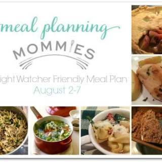 Free Weight Watcher Friendly Meal Plan and Grocery List #5