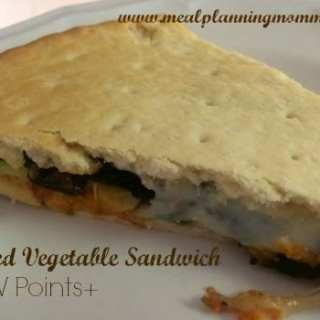 Grilled Vegetable Sandwiches-4 WW Points+