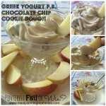 Pinterest Fail or Win? Greek Yogurt Peanut Butter Chocolate Chip Cookie Dough