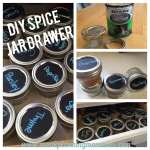 DIY Spice Jar Drawer