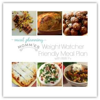 Free Weight Watcher Friendly Meal Plan and Grocery List #8