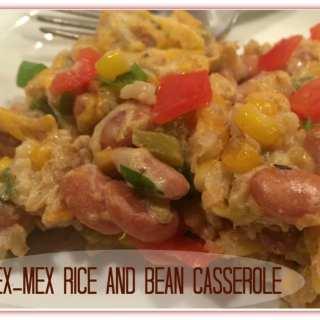 Tex-Mex Rice and Bean Casserole