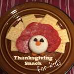 Cute, Fun, and Easy Turkey Snack Idea for Kids