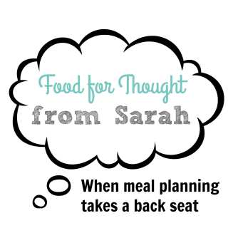Seasons of Meal Planning