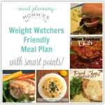 Weight Watcher Friendly Meal Plan with Smart Points #3