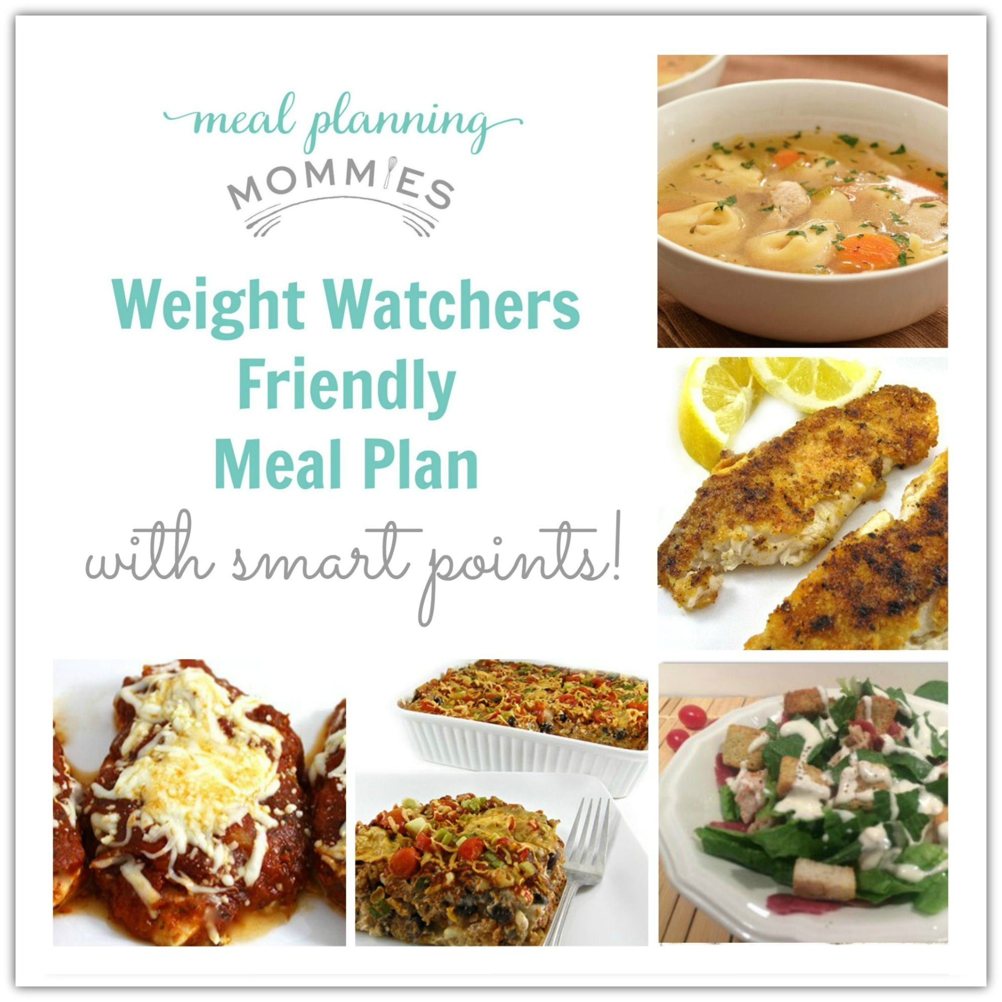 Weight Watcher Friendly Meal Plan With Smart Points 4