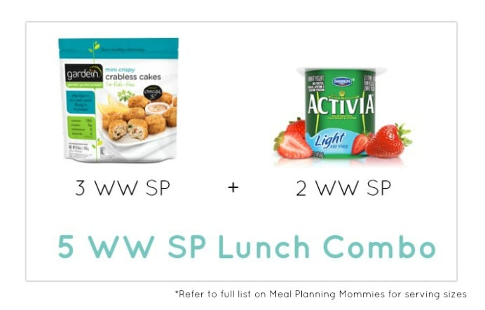 Weight Watcher Lunch Combo 11 - Meal Planning Mommies