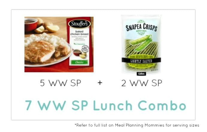 Weight Watcher Lunch Combo 23 - Meal Planning Mommies