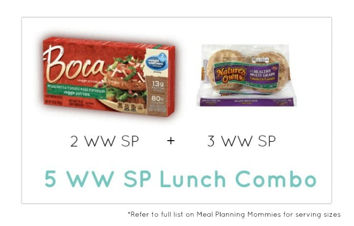 Weight Watcher Lunch Combo 26 - Meal Planning Mommies