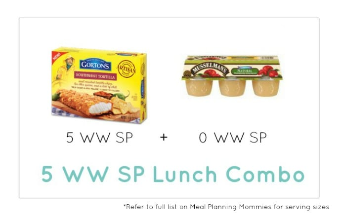 Weight Watcher Lunch Combo 28 - Meal Planning Mommies
