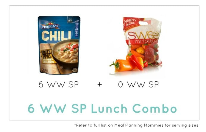 Weight Watcher Lunch Combo 8- Meal Planning Mommies