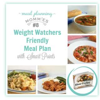 Weight Watcher Friendly Meal Plan #8 with FreeStyle Smart Points