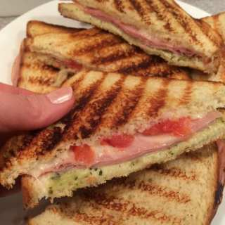 Turkey and Cheese Pesto Panini – 5 WW Smart Points