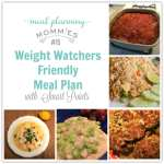 Weight Watcher Friendly Meal Plan with Smart Points #15