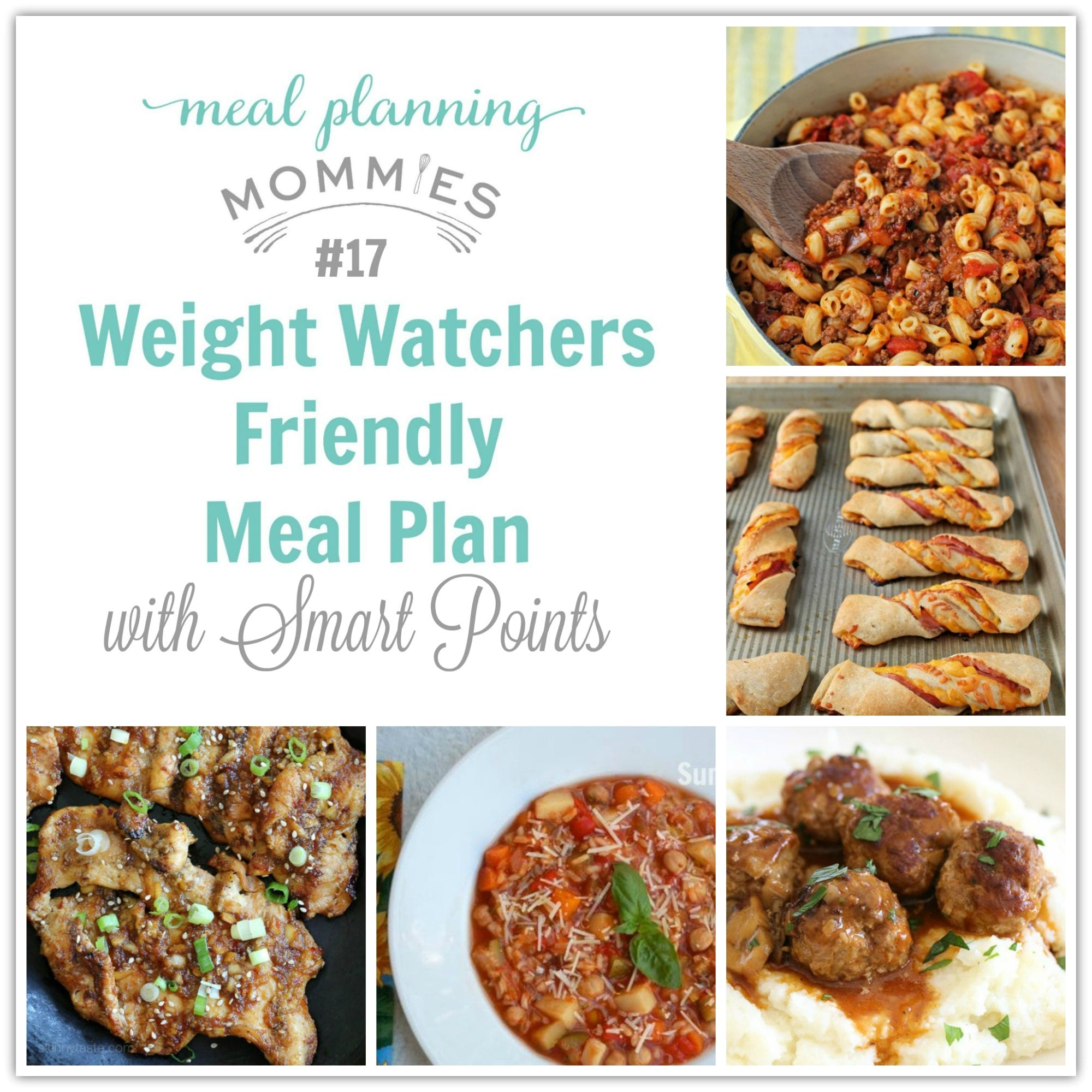 Weight Watcher Meal Plan With Smart Points 17