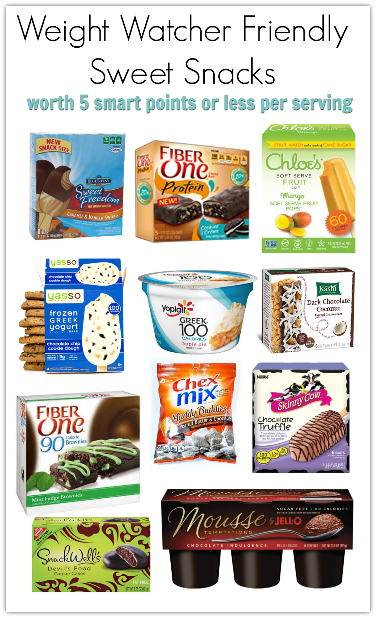 More Smart Desserts With Ww Smart Points Meal Planning Mommies