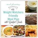 Weight Watcher friendly meal plan with smart points #20