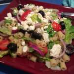 Greek Pasta Salad Bowl