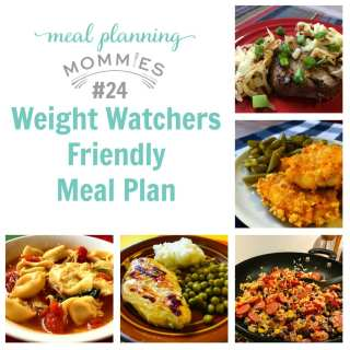 Weight Watcher Friendly Meal Plan with Smart Points #24