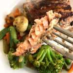 Sweet Blackened Salmon and Veggies