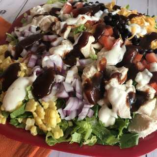 BBQ Ranch Chicken Salad