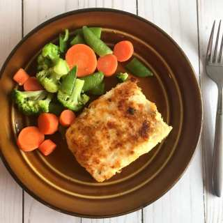 Potato Crusted Butter and Herb Tilapia